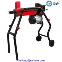 Buy cheap cheap 4 ton horizontal hydraulic electric screw log splitter with CE GS TUV product