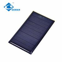 China 0.52W Heat Resistant Epoxy Solar Panel Photovoltaic 5.5V CE Certificated on sale