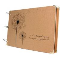 Buy cheap Scrapbook Vintage Photo Albums Dandelion Printed Surface Ideal Valentines Day Gifts from wholesalers