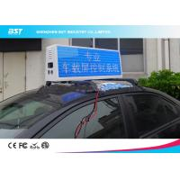 Buy cheap RGB Video Taxi Top Led Display Advertising Light Box With 4g / Wifi Control from wholesalers