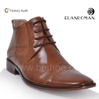 Buy cheap Leather boot high neck shoes for men from wholesalers
