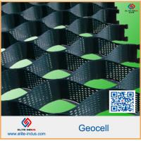 Buy cheap Ultrasonic Welding Plastic HDPE Geocell Retaining Wall Welding Space 300mm To 1600mm from wholesalers