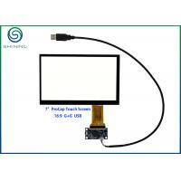 Buy cheap 7 Industrial Touch Screen With USB Interface For Innolux AT070TN92, AT070TN93, AT070TN94 from wholesalers