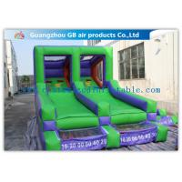 Buy cheap Double Channel Inflatable Sports Games Ball Goal Court With CE Approved Blower product