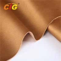Buy cheap Durable PU PVC Artificial Leather Fabric for Sofa / Car Seat / Furniture / Bag / Shoes product