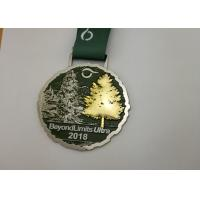 Buy cheap 3D Double Plating Race Medals , Die Stamped Triathlons Awards Medals from wholesalers