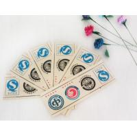 Buy cheap Printed Logo Waterproof Adhesive Sticker Labels Coated Paper With Roll / Sheet Shape from wholesalers