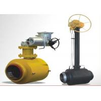 Buy cheap Stainless Steel Ball Valve Fully Welded Feature High Flow Capacity product
