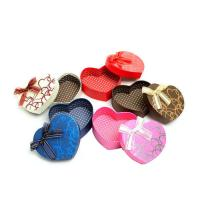 Buy cheap Eco-Friendly Heart Shape Paper Jewelry Box for Packaging from wholesalers