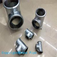 Buy cheap Hot Dipped Galvanized Malleable Iron Pipe Fitting Tee from wholesalers