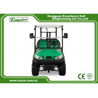 Buy cheap EXCAR 2 Person Electric Golf Car Golf Course Car Curtis Controller from wholesalers
