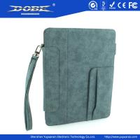 Buy cheap Imitation Fabric design Handbag-like Protective Case with Wrist Strap and Stand for the New iPad(iPad3) from wholesalers
