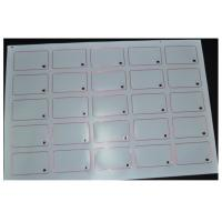 Buy cheap Customized Thickness 13.56MHZ RFID Smart Card Inlay L85.4mm * W54mm 8kbit Capacity from wholesalers