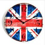 Buy cheap Retro Vintage Quartz Wall Clock Modern Home Decor MDF Wooden Wall Clock from wholesalers