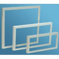 Buy cheap Aluminum Extrusion Frame For Solar Panels , Anodized Extrusion Profiles With Corner Key Joint from wholesalers