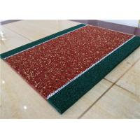 Buy cheap Impact Resistant Recycled Rubber Crumb Multicolors Anti - Slip Jogging Flooring from wholesalers