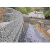 Buy cheap Architectural Retaining Wall Gabion Baskets , Mild Steel Gabion Rock Cages from wholesalers