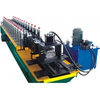 Perforation Shutter Door Roll Forming Machine With PLC Control System