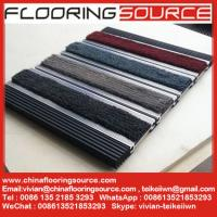 Buy cheap Aluminum Frame Entrance Flooring Mat with infill Heavy Duty Carpet Entrance Non slip Matting from wholesalers