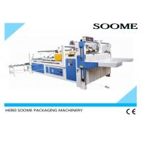 Buy cheap Semi - Automatic Folder Gluer Machine Size 2800mm*340mm For Pasting Carton Box from wholesalers