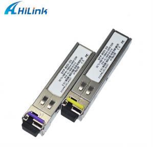 Buy cheap Hd Bidi Sfp Optical Transceiver 3G SFP BIDI Transceiver 1310TX/1550RX LC/SC product