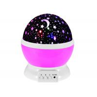 Buy cheap Romantic Rotating Cosmos Star Sky Moon Projector , Rotation Night Projection for Children Kids Bedroom from wholesalers