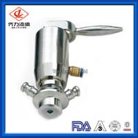 Buy cheap Butt Welded 	Tri Clamp Sample Valve Manual  Control Aseptic Sampling Valve from wholesalers