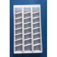Buy cheap PP Disposable plastic food tray PP dumping trya with lid white PP food tray with lid FDA EU Approved from wholesalers