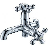 Buy cheap Brass Chrome Plated Single Cold Water Taps with Double Handles for Mop Pool , HN-5F01 from wholesalers