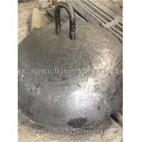 Buy cheap China Foundry Direct Marine Parts Iron Cast 3000kg Dead Weight Moorings With Lift eye from wholesalers