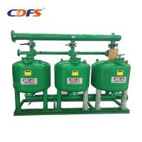 Buy cheap Industrial Automatic Sand Filter 6 - 228 M3 / H Back Washing Flow DMF Models from wholesalers
