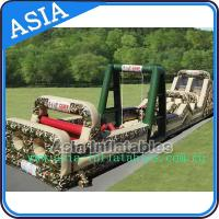 Buy cheap Boot camp inflatable obstacle challenges course from wholesalers
