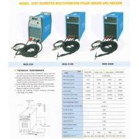 Buy cheap WSE315 IGBT Inverter Multi-Purpose Pulse Argon Arc Welder with Argon Gas Shield machine from wholesalers