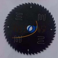 Buy cheap 185mm x 52T with teflon coating and noise-reduction line, Thin kerf saw blade from wholesalers