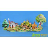 Buy cheap DIY Fashion Puzzle 3D Model , Child Toy Building The Three Little Pigs from wholesalers