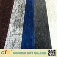 Buy cheap Customized Color Chenille Fabric For Sofa , 280GSM - 400GSM product