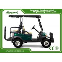 Buy cheap EXCAR CE Approved Electric Hunting Carts 48V Lifted 4 Seater Golf Cart 3.7KW from wholesalers