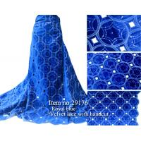 Buy cheap Hot selling and high quality african velvet lace fabric from wholesalers