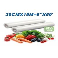 Buy cheap Toppack vacuum sealer rolls Compatible with Clamp Style Vacuum Packaging machines from wholesalers