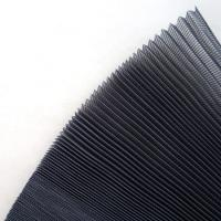 Buy cheap Pp Material Pleated Mesh Plisse Insect Screen 15mm 16mm 18mm 20mm from wholesalers