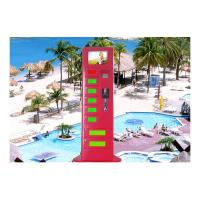 Buy cheap Advertising Information Quick Cell Phone Charging Kiosk for Resorts / Tourist Attraction / Scenic Spots from wholesalers
