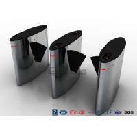 Buy cheap Automatic Barrier Wing Half Height Turnstiles Stainless Steel Swing Barrier Gate For Offices from wholesalers
