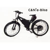 Buy cheap 48 Voltage Electric Assist Fat Tire Sand Bike Aluminum Alloy Frame 50Kmph Speed from wholesalers