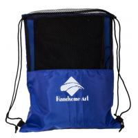 Buy cheap Cheap Promotional Mesh Polyester Football Drawstring Bag-HAD14018 product