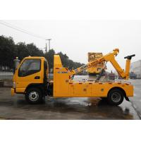 Buy cheap Durable Hydraulic 6000kg Wrecker Tow Truck , Highway / City Road Occasion Breakdown Recovery Truck from wholesalers
