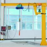 Buy cheap 8 Ton Pillar Mounted Jib Crane Working Class A3 270° Rotating With Chain Hoist from wholesalers