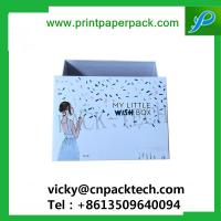 Buy cheap Rigid Set Up Garment Underwear Packaging Boxes Cosmetic Cardboard Box High Quality Black Cardboard Jewelry Box from wholesalers