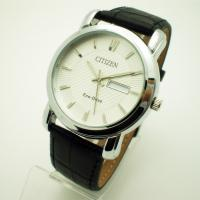 Buy cheap High End Mens/Ladies Black Leather Strap Watch with Shining Plating And Classic Case from wholesalers