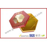 Buy cheap Octangle Chocolate Packaging Boxes / Window Boxes Hot Stamping Boxes from wholesalers