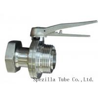 China TP304 TP316L SF1 Polished Stainless Steel Fittings And Valves For Beverage Dairy Wind Equipment on sale